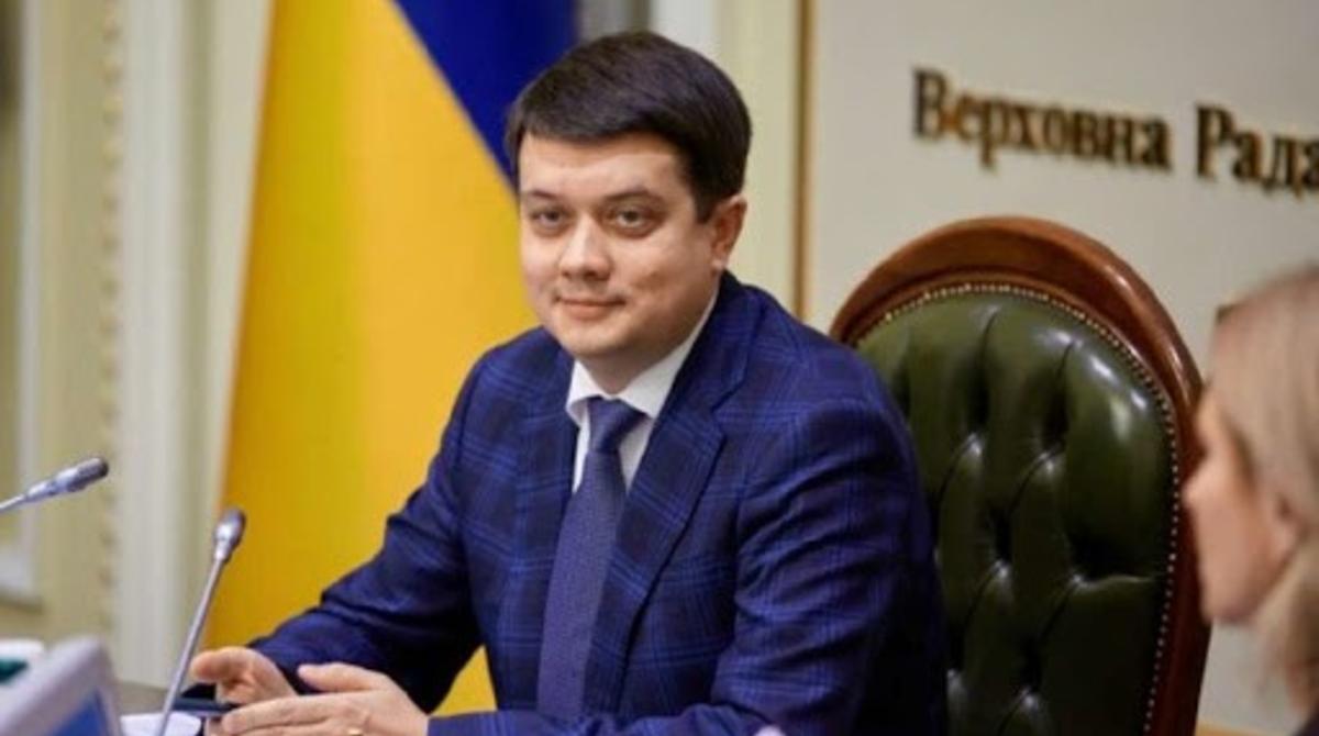 Законопроект Бужанского о языке: Разумков пояснил, когда он потеряет свою актуальность