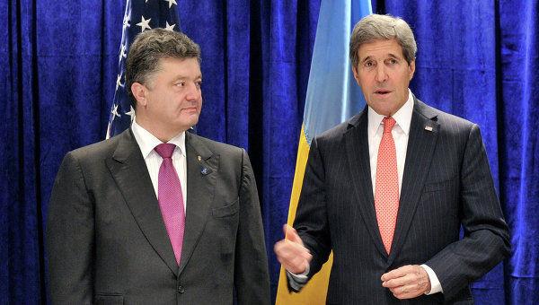 Мы непоколебимы в нашей поддержке Украины и не променяем Киев на продуктивное сотрудничество с Россией – Керри