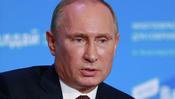 Путин: Россия не может оставаться безучастной, когда людей расстреливают почти в упор