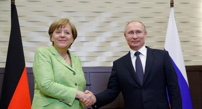 """Дипломат: заявления Путина и Меркель по """"Северному потоку-2 """"- это самое настоящее вранье"""