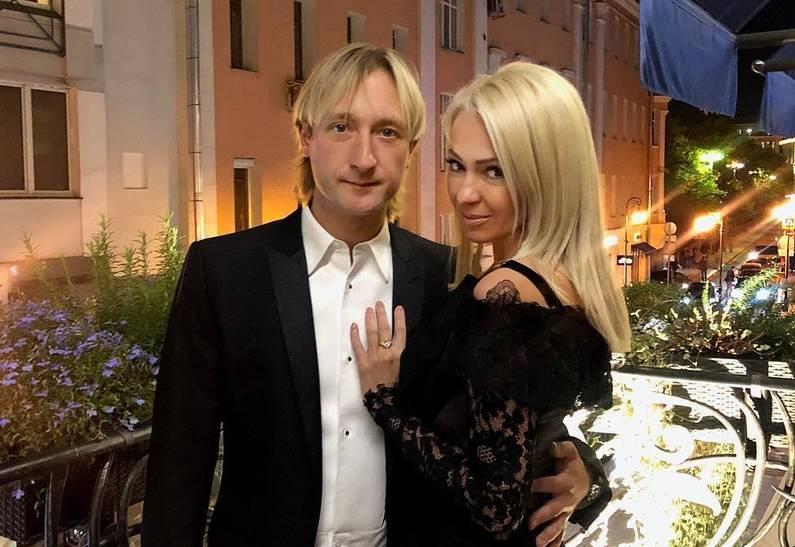 Яна Рудковская, Евгений Плющенко, любовница, брак