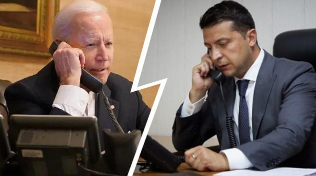 Сегодня состоится телефонный разговор Байдена и Зеленского: источник сообщил первые подробности