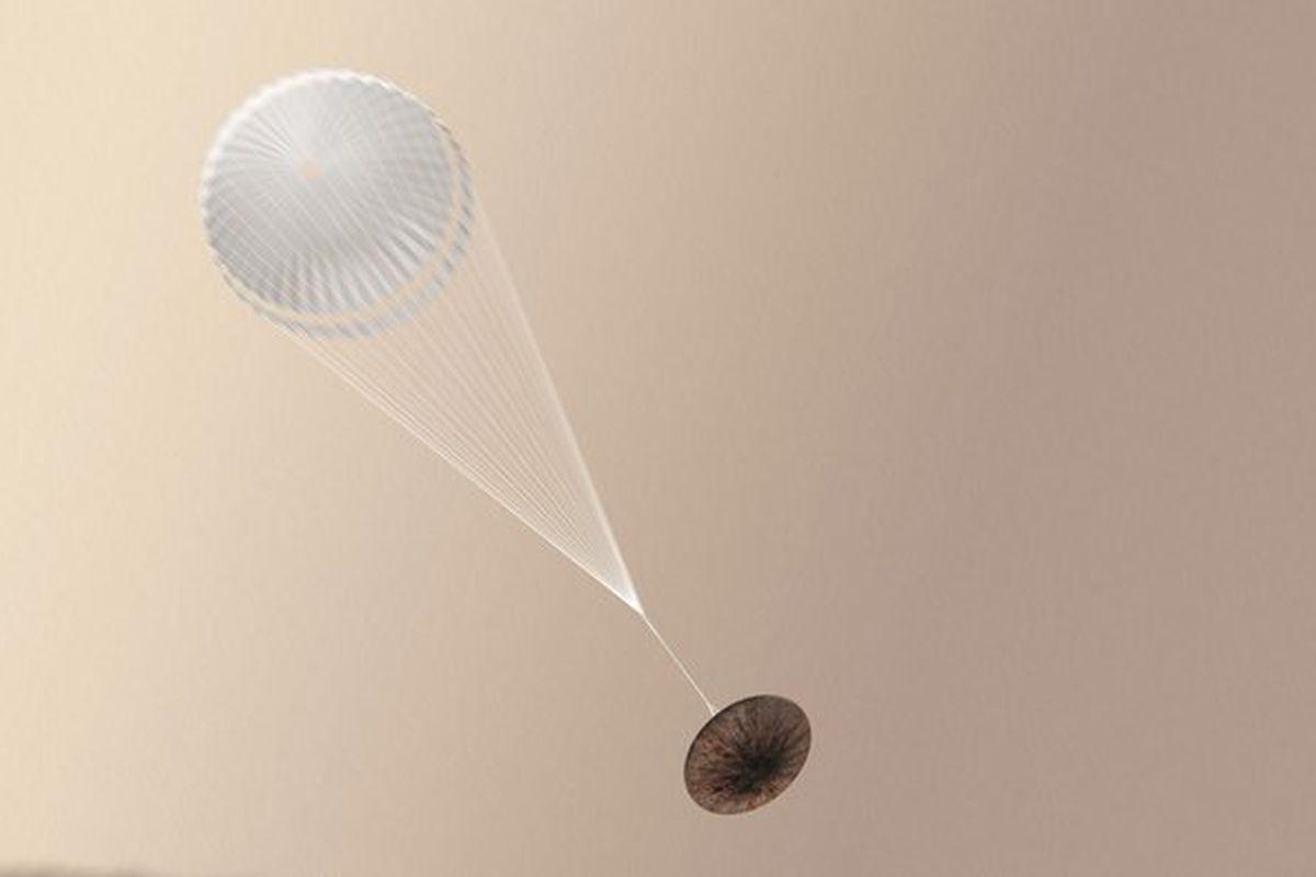 В Швейцарии ученые испытали парашюты для миссии ExoMars – кадры