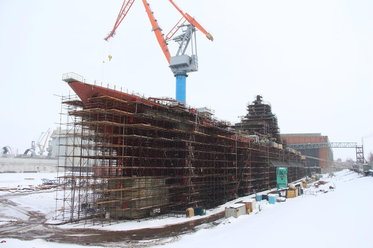 мост ремонт адмирал нахимов крейсер фото этот раз