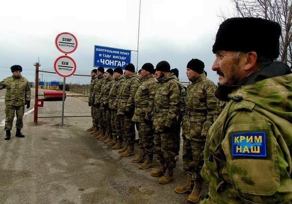 """Ислямов: активисты """"Аскер"""" прошли подготовку и получили разрешение на патрулирование границы с Крымом"""