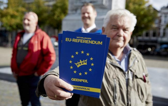 На исторический референдум в Голландии почти никто не пришел: средняя явка менее 20%