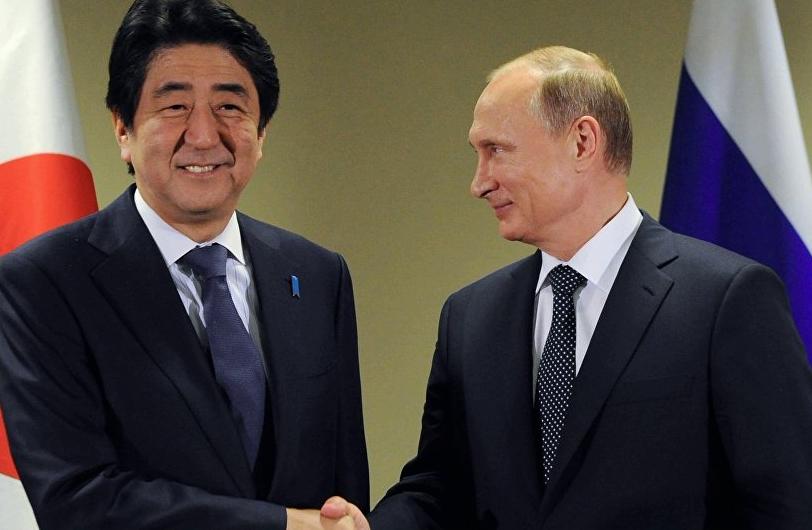 путин, россия, япония, курилы, скандал, общество