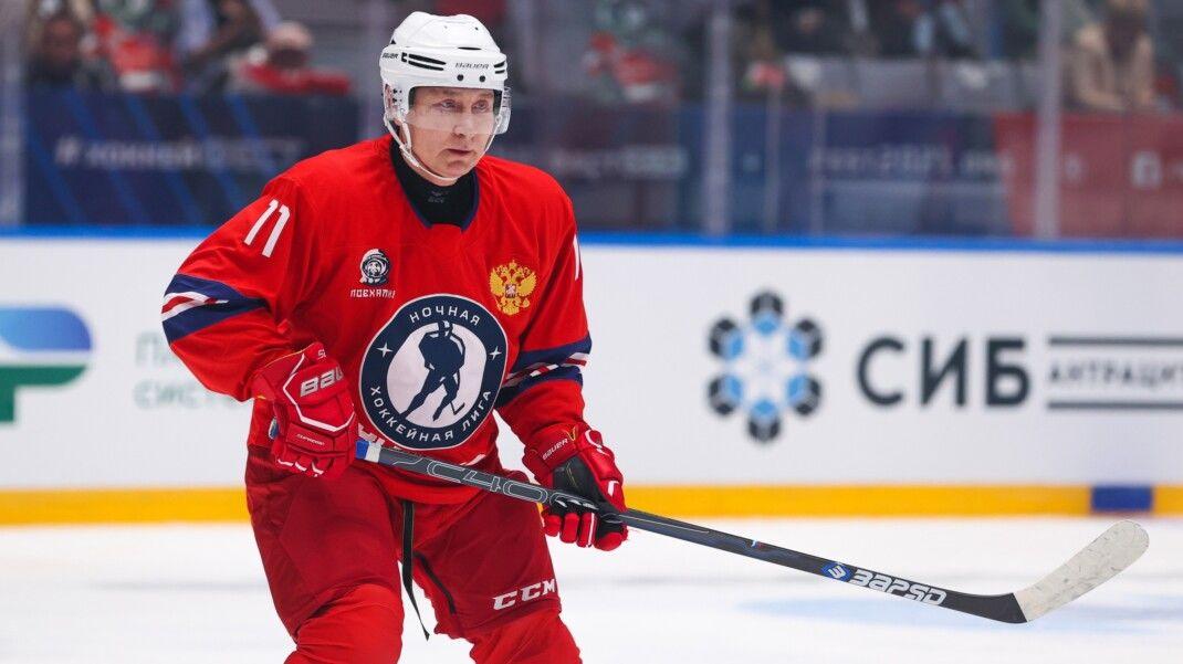 Путин забил 8 шайб в хоккейном матче: поведение соперников в игре вызвало подозрение соцсетей