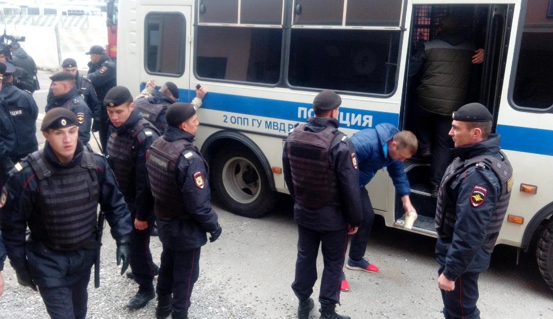 Россия, Москва, акция протеста, YouTube, Google, политика, общество, видео, фото, кадры, массовые задержания