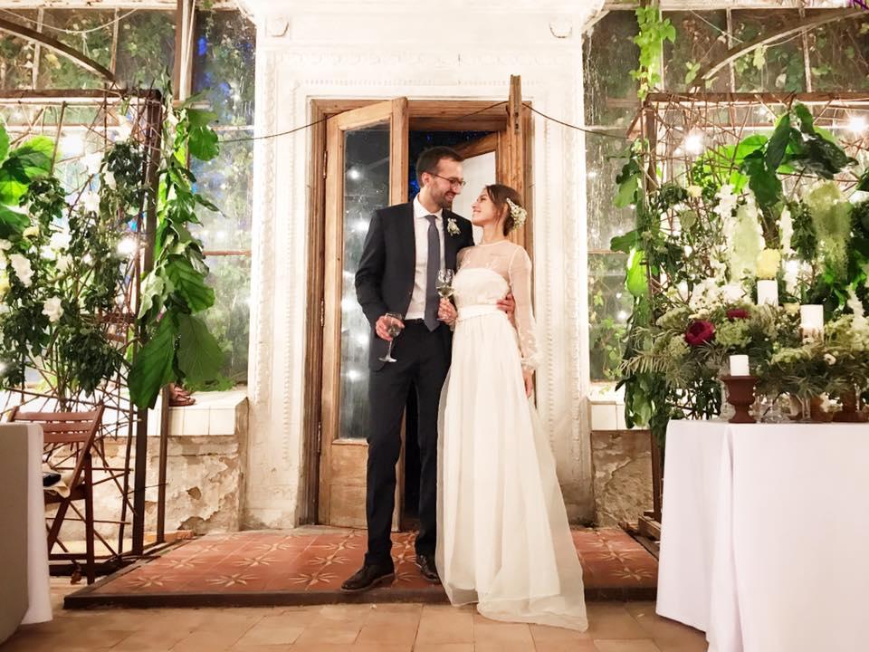 Нардеп Лещенко гуляет свою свадьбу в огромной... оранжерее - смотрите кадры с праздника