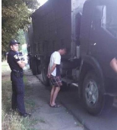 дтп, херсон, водитель, велосипедисты, наркотики, наезд,  происшествия, жертвы, гибель, фото, новости украины