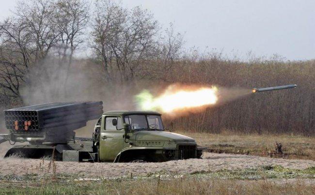 СНБО: Ополченцы  обстреливают из «Градов» жилые массивы дончан
