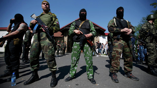 Пророссийские боевики не дают восстанавливать инфраструктуру Донбасса. Заявление штаба АТО