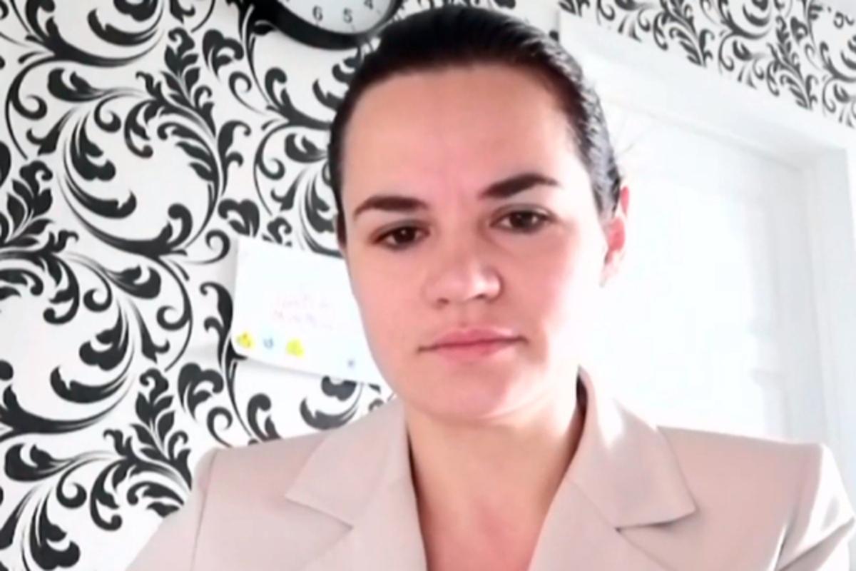 """Тихановская, главный конкурент Лукашенко на выборах в Беларуси, ответила, """"чей Крым"""""""