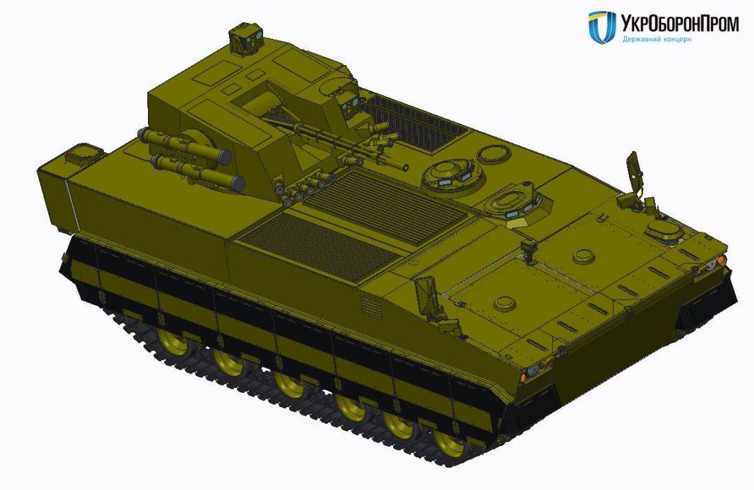 В Харькове будет разработана БМП-В нового поколения: Укроборонпром показал фото первого прототипа