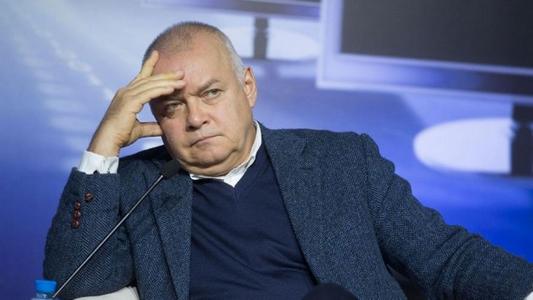 """""""Хотят укоротить языки"""", - главный пропагандист Кремля Киселев устроил истерику из-за решения суда не пускать его в ЕС"""