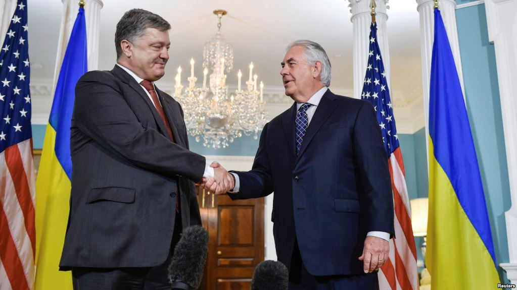 Киев ждет гостей от Трампа: Тиллерсон и Уолкер едут в Украину в поиске путей решения конфликта на Донбассе