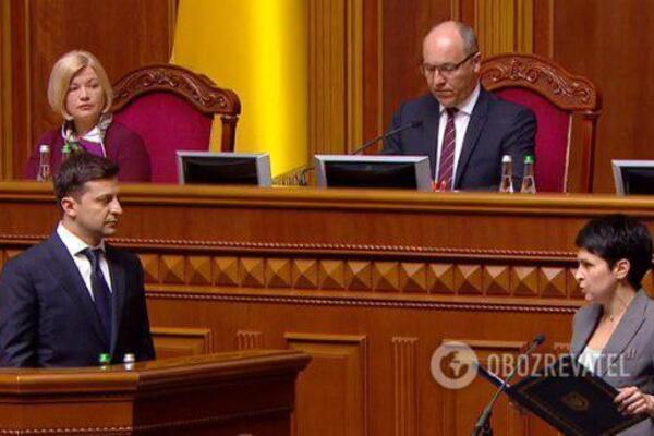 владимир зеленский, киев онлайн, президент украины, присяга, инаугурация, физиогномист, новости украины