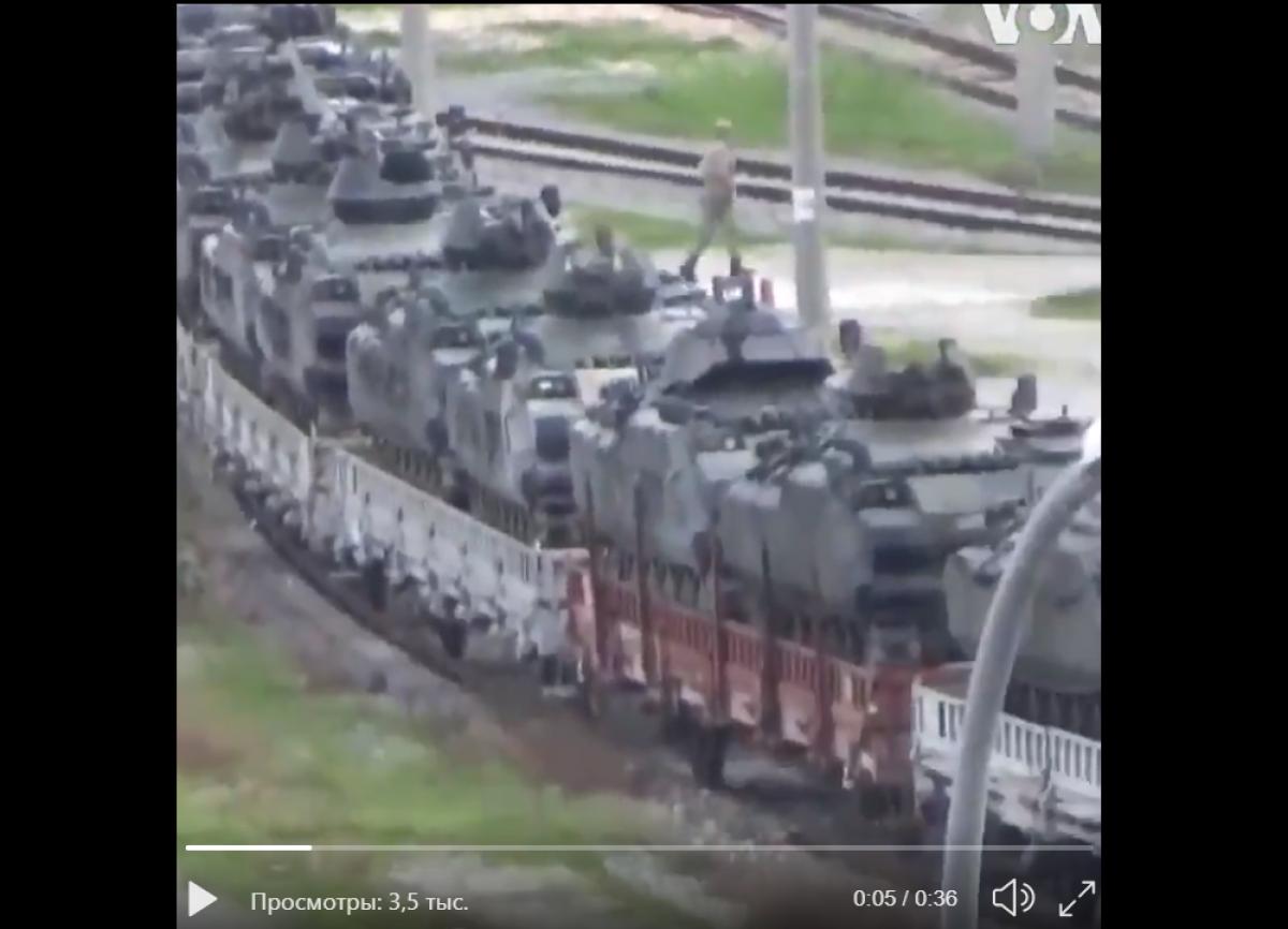 """""""Сотни единиц бронетехники"""", - Турция готовится к войне в Сирии и эшелонами стягивает армию, видео"""