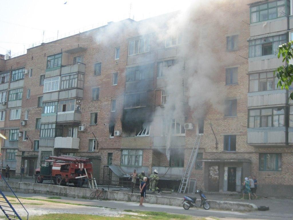 Иловайск: разрушения после обстрела 8 августа