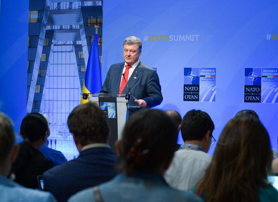 Двери НАТО открыты: Порошенко подвел итоги саммита Альянса для Украины