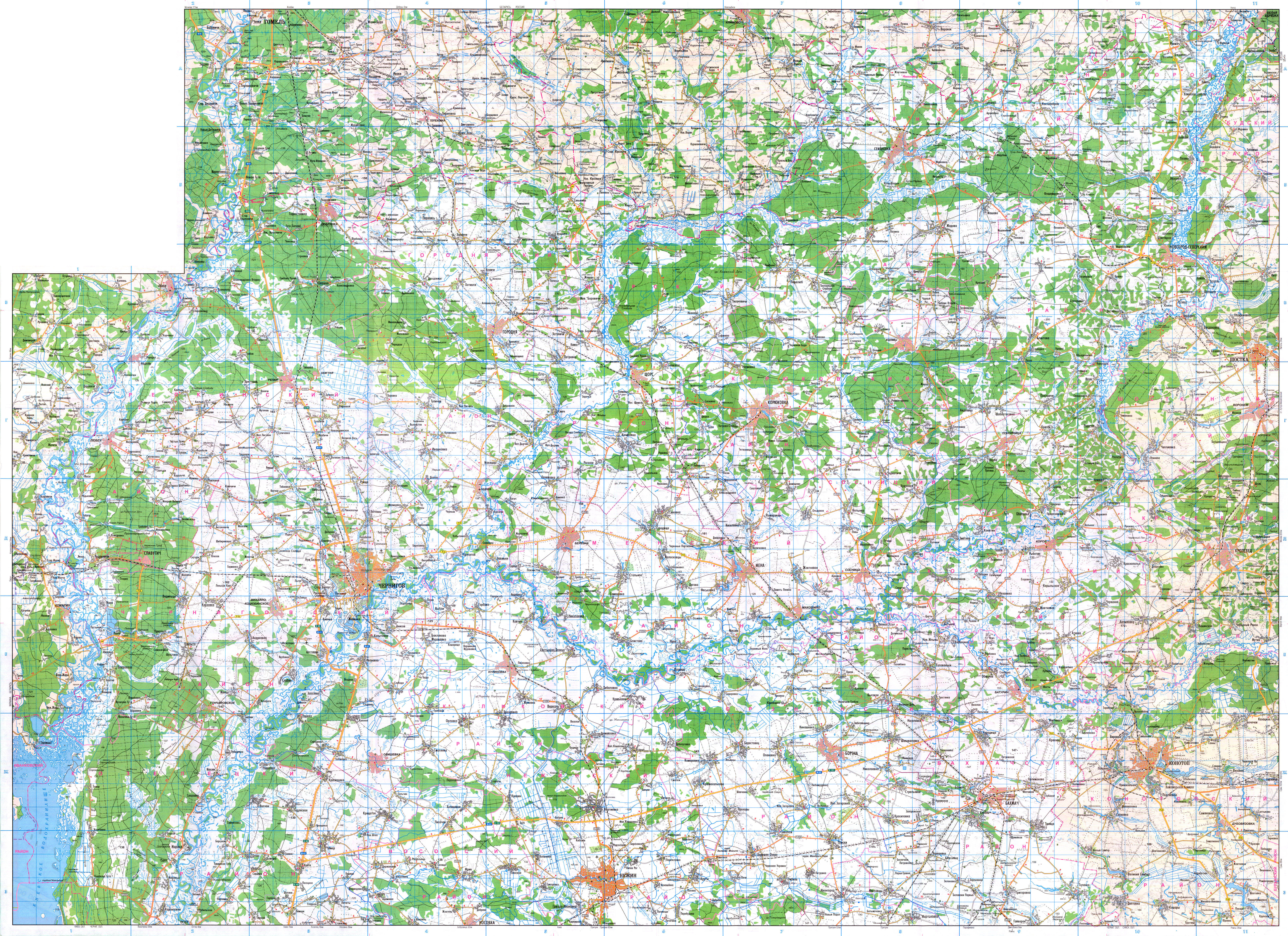 Украинские военные и бойцы в зоне АТО получат новые топографические карты местности