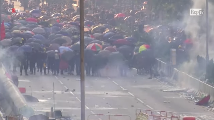 Гонконг, Майдан, КНР, акция протеста