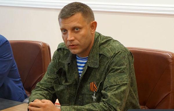 Глава ДНР: мы готовы к прекращению огня