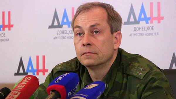 эдуард басурин, днр, военная техника, минские переговоры, перемирие в донбасс, восток украины
