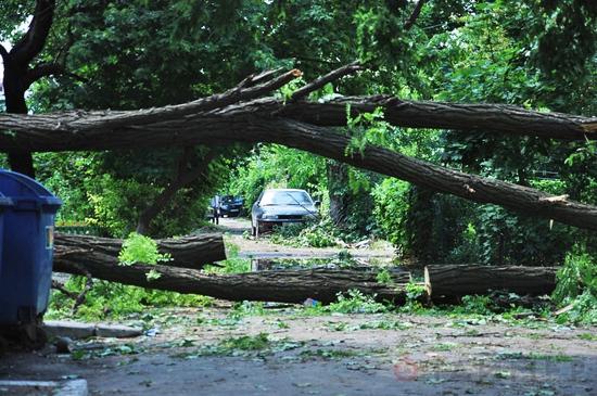 Очередные жертвы урагана в Одессе: наступив на оборванный ветром кабель погибла 11-летняя девочка