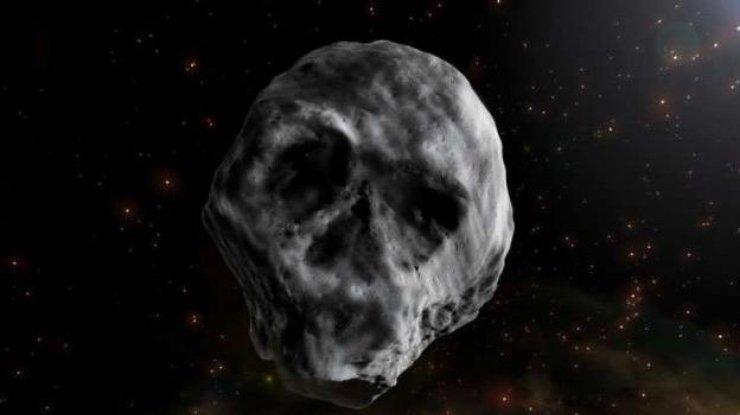 Ученые не верят собственным глазам: ужасающий астероид-мертвая голова приближается к Земле с огромной скоростью