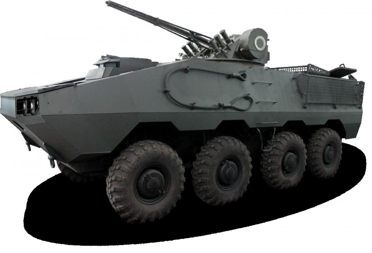 """Украинский """"Отаман 6x6"""": стальной зверь с яростью тигра готовится стать на защиту страны, кадры"""