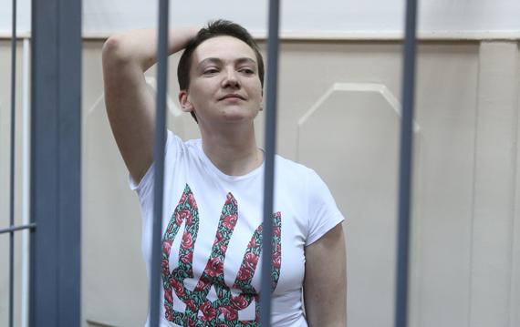 Официально: Кремль приговорил Надежду Савченко к 22 годам тюрьмы