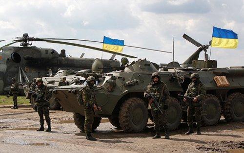 В Донецкой области силы АТО усиливают кольцо вокруг Горловки и Донецка