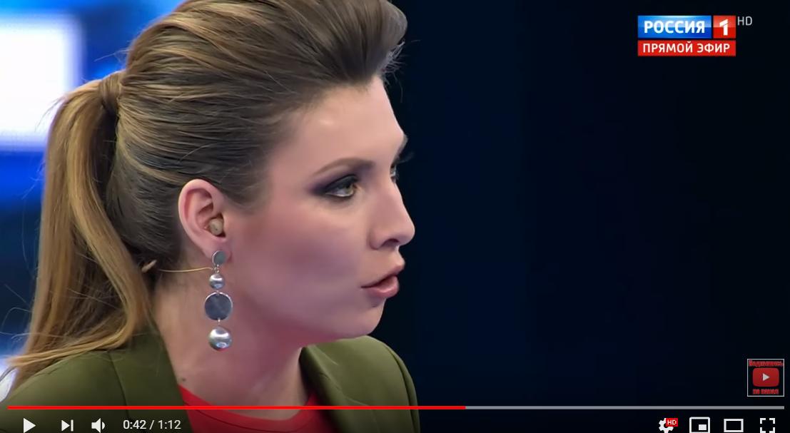 Украинец довел Скабееву в прямом эфире: видео скандала на росТВ ошарашило россиян в студии
