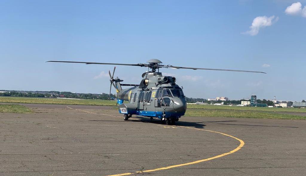 Нацгвардия получила на вооружение новый вертолет Н-225 - пресс-служба МВД Украины