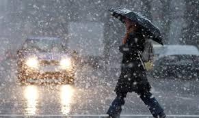 Снег с дождем и резкие перепады температур: подробный прогноз погоды для всех регионов Украины - карта