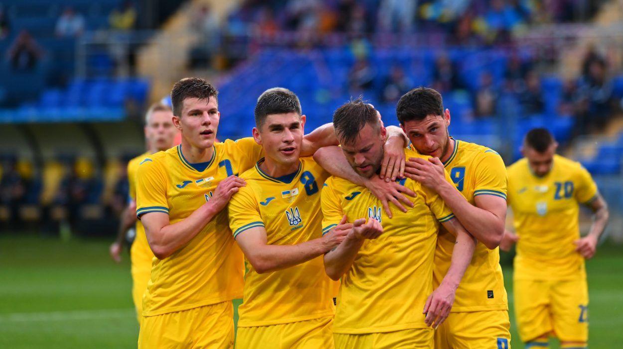 Евро-2020: календарь матчей сборной Украины, вероятность встречи с Россией