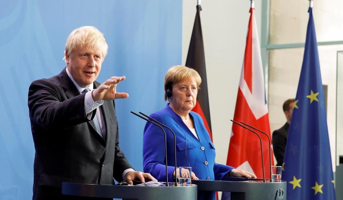 Россия, США, Британия, Меркель, Джонсон, Германия, Трамп.