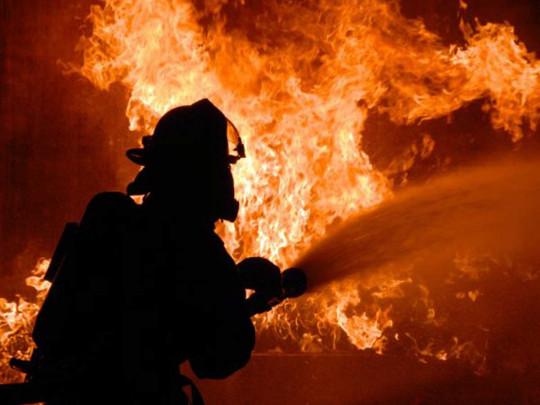 Винницкая область, пожар, военный склад, огонь, спасатели