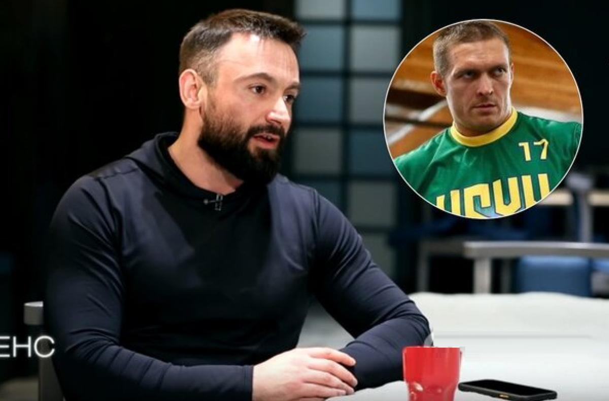 Ветеран АТО обозвал Усика в прямом эфире: боксер не сдержался в ответ, видео