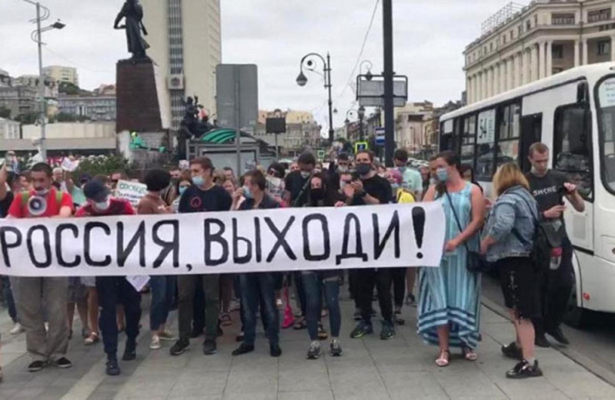 """""""Кремль не пощадит никого"""", - что говорят в России о протестах в Хабаровске"""
