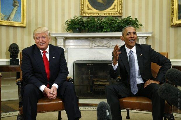 """Сенсационное заявление Трампа: """"Обама еще до выборов знал о предполагаемом вмешательстве России, однако ничего не сделал"""""""