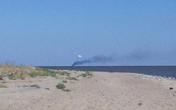 СМИ: в Азовском море был обстрелян катер украинских пограничников