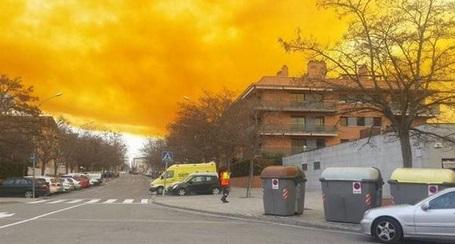 Каталония, токсическое облако