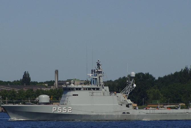 Украина готова купить у Дании три боевых корабля для охраны своих морских границ