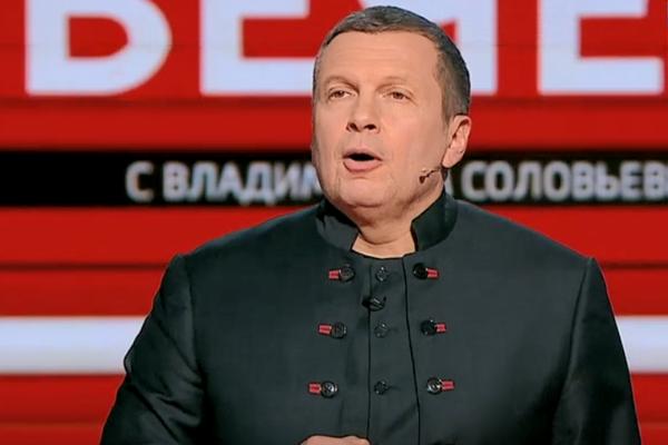 """Соловьев выдал едкий спич о войне на Донбассе и оскорбил украинцев: """"Никакого холодного мира нет и не будет"""""""