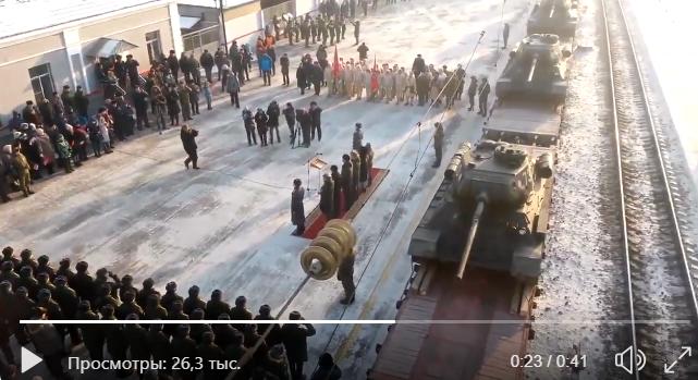 Сеть взорвало видео, как в России с почестями встретили старые танки Т-34:  неприятный факт сильно разозлил россиян