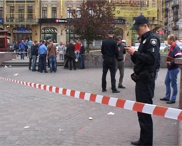 Полиция в Киеве назвала стрельбу на Бессарабке хулиганством: уникальные кадры расследования кровавого инцидента