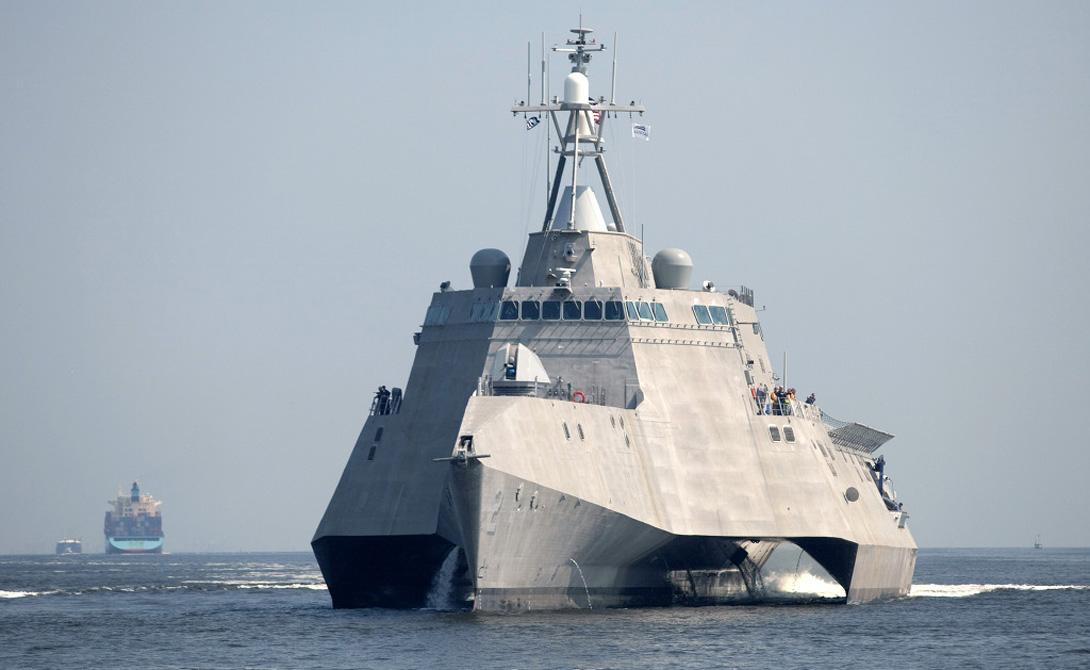 На вооружение ВМФ США поступит самый современный в мире эсминец